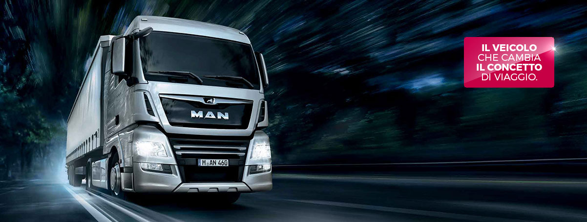 Nuovo Man TGX. Efficienza, forza e confort